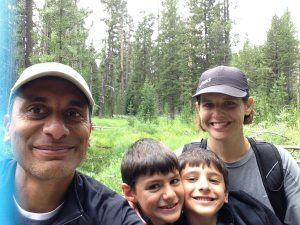 2015 family in yellowstone